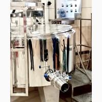 Компонування лінії обладнання для переробки молока