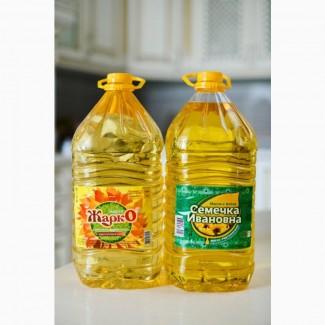 Продажа подсолнечного рафинированного масла на экспорт и по России