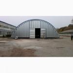 Монтаж и производство бескаркасных ангаров, хранилищ и складов
