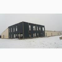 Ангари, склади, зерносховища монтаж Київ