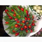 Тюльпаны к 8 марта 2018 из Голландии/тюльпани до 8 березня