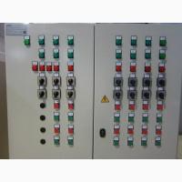 Шкафы управления, электродвигатели, редукторы, конвейеры