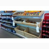 Стойка торговая металлическая для магазина, киоска или рынка
