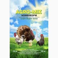Комбикорм полнорационный Agro-Mix от производителя