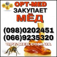 Закупівля МЕДУ оптом в Черкаській, Кіровоградській, Миколаївській обл