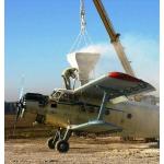 Авиаподкормка озимой пшеницы и рапса с применением сельхозавиации
