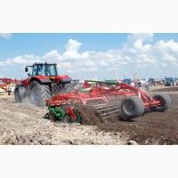 Дискование почвы, дисковка земли в Черкассах. Обработка, дисковой бороной, дискование