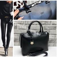 Стильная женская сумка фирмы Фенди Fendi, кожаные сумки