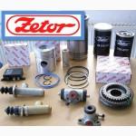 Ремонт двигателей Зетор-5201, 7201, запчасти и расходные материалы к ним