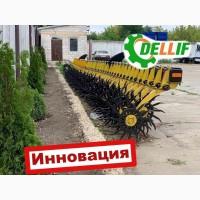 Ротационная борона Dellif Белла 6 м 25 рабочих органов