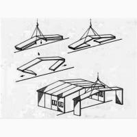 Продам ангар б/у металлический тип Пионер (УСРЗ)