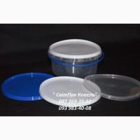 Пластикове відро харчове 500мл. з ручкою