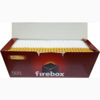 Сигаретные гильзы | Сигаретні гільзи | Фаер Бокс 500 шт | От ТАБАК ОПТ
