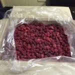Услуги по заморозке малины и других ягод и овощей в морозильной камере