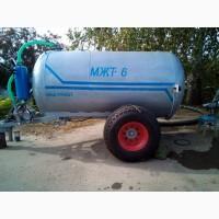Бочка для жидкого навоза, удобрений МЖТ6