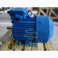 Электродвигатель одно- и трехфазный АИР, с электромагнитным тормозом