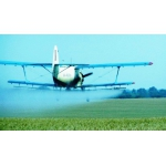 Услуги по защите пшеницы и рапса от вредителей вертолетом самолетом