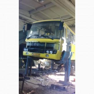 Капитальный, аварийный, текущий ремонт автобусов