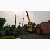 Возведение конструкций металлических дымовых труб