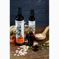 Масло и семян тыквы, Тыквенное масло (олія з насіння гарбуза)