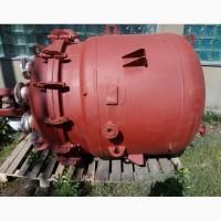 Продам эмалированный реактор 1.6м3
