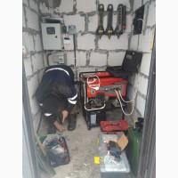 Блок управления воздушной заслонки (подсос) генератора