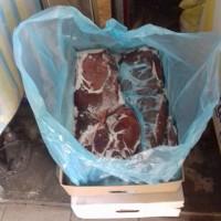 Продам печень говяжью картон