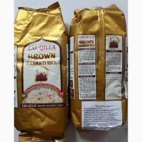 Рис Басмати коричневый. ЭКО - продукт