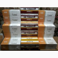 Гильзы для сигарет, Табак, машинки, бумага, портсигары