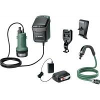 Садовый насос Bosch Garden Pump, аккумуляторный, Насосы и помпы в ассортименте, полив