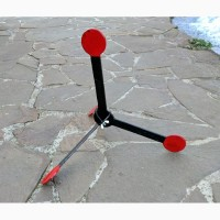 Недорогие шагающие мишени для пневматики. Мишени из металла 2 мм