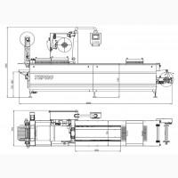 Термоформовочная автомат. линия для вак. упаковки в жесткой пленке TEPRO LPP420-360X24T