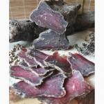 Бингтонг, вяления говядина, сыровяленые деликатесы