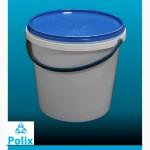 Продам ведра пластиковые, пищевые, белые, 1л