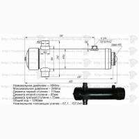 Гидроцилиндр МаЗ 5551 (3-х штоковый) 503А-8603510-03
