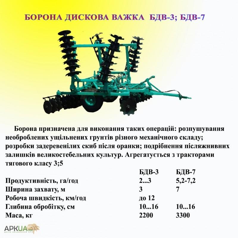 Борона дисковая тяжёлая прицепная БДТ-7 | ЖЕЛЕЗНЫЙ-КОНЬ.РФ