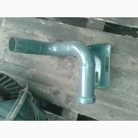 Труба выхлопная (колено глушителя) СМД-18, каталожный 18Н-17с3
