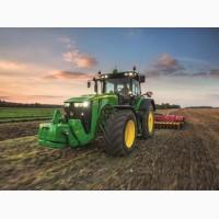 Услуга культивации и вспашки тракторами John Deere