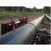 Монтаж трубопроводов полиэтиленовых для систем орошения