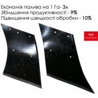 Відвал композитний Текрон для плуга ПСКУ Продам