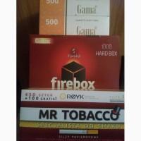 Табак, гильзы