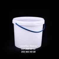 Пластикове відро харчове 5л. з ручкою