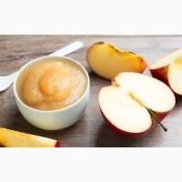 Продажа оптом на экспорт яблочного пюре