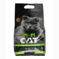 Комкуючий наповнювач для туалету котів - Бентонітовий Pi Pi Cat