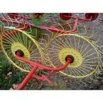 Грабли ворошилки 4 колеса