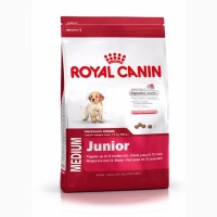 Корм для собак royal canin medium junior 15 кг