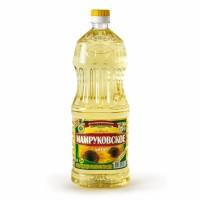 Масло подсолнечное рафинированное дезодорированное в пластиковых бутылках