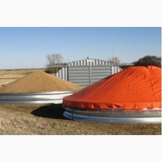 Зернохранилища шатрового типа