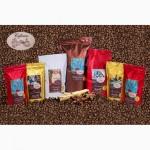 Кофе в зернах свежей обжарки Арабика, Робуста, бленды