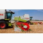Уборка зерновых комбайном Винница, услуги уборки урожая, аренда комбайнов на уборку зерна
